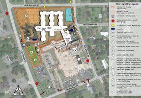 Grady Skilled Nursing 2D Site Logistics_06-08-2021