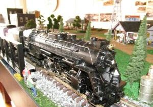 THIS IS A PORTION of a smaller train exhibit that currently is on exhibt in the Grady County Museum and History Center. Ward donated portions of his collection in 2012 and again in 2016. He now wants to donate his entire extensive collection.